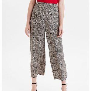 Leopard Print Pants L